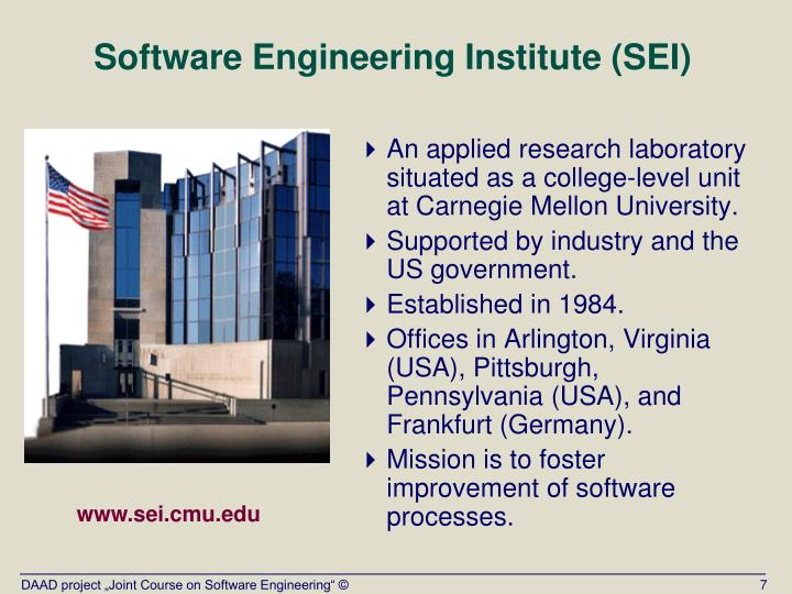 Software Engineering Institute (SEI)