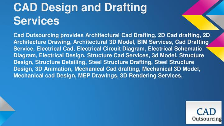 Cad Design Services : Ppt cad outsourcing services powerpoint presentation