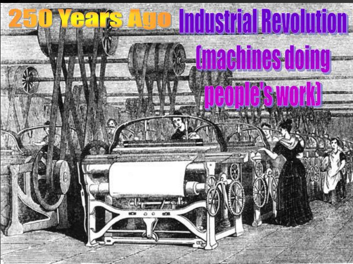 250 Years Ago