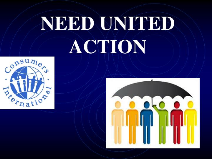 NEED UNITED ACTION