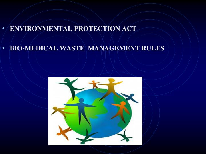 ENVIRONMENTAL PROTECTION ACT
