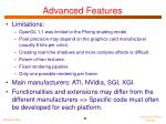 advanced features1