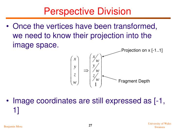Perspective Division