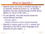 what is opengl3
