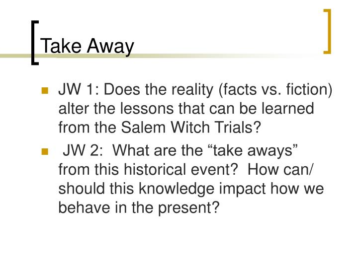 salem witch trials and forbidden knowledge The salem witch trials began in 1692  but copying text is forbidden on this website  escaping salem book questions answers essay sample your e-mail goes send.