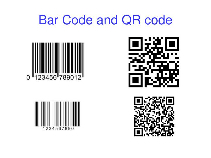 Bar Code and QR code