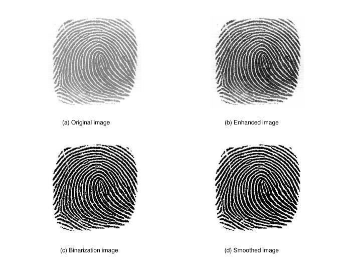 (a) Original image                                                                    (b) Enhanced image