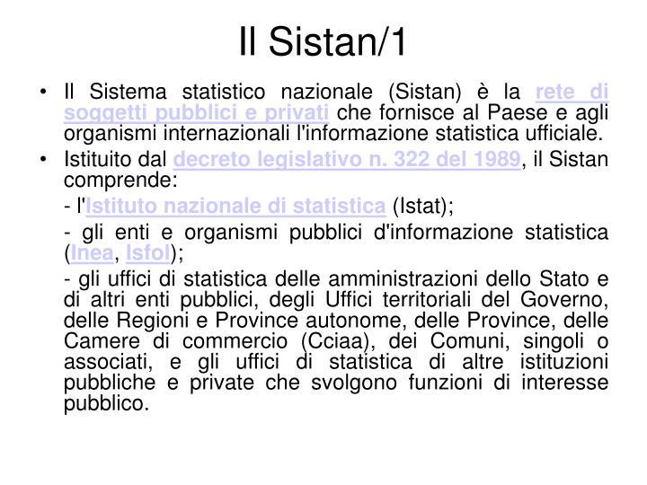 Il Sistan/1