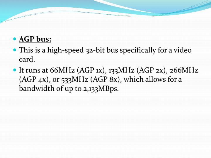 AGP bus: