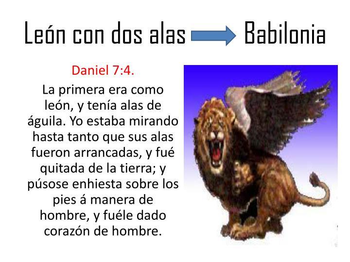 Len con dos alas          Babilonia