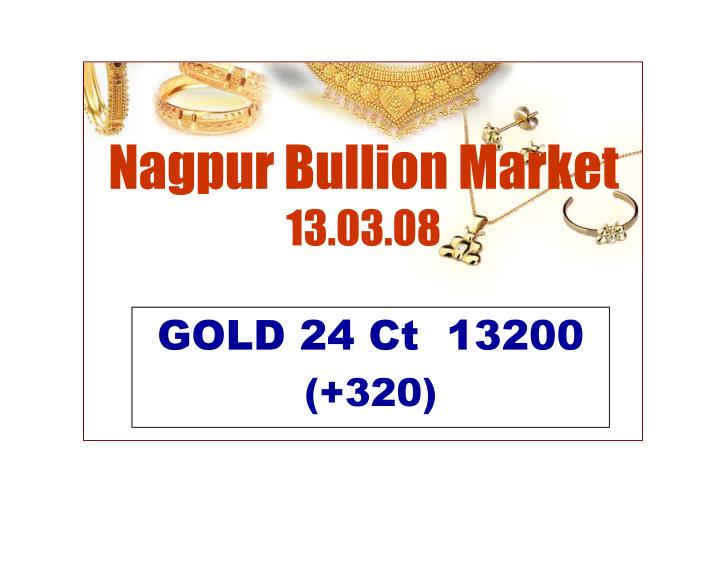 Nagpur Bullion Market