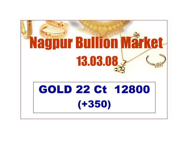 Nagpur Bullion Market