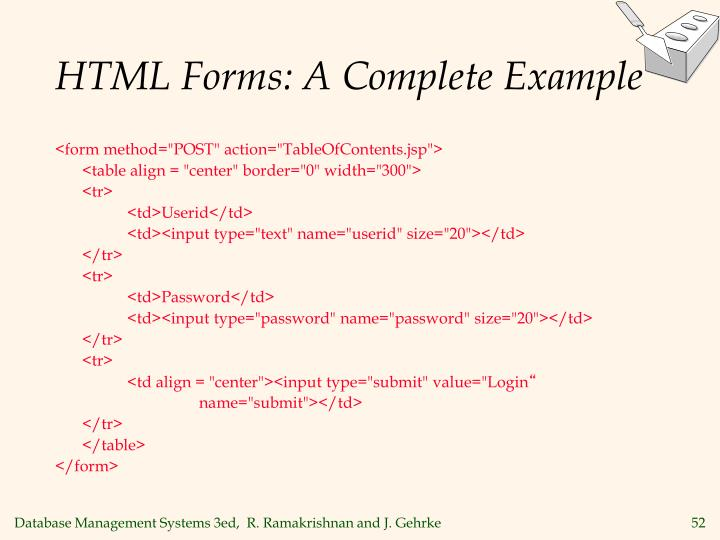 HTML Forms: A Complete Example