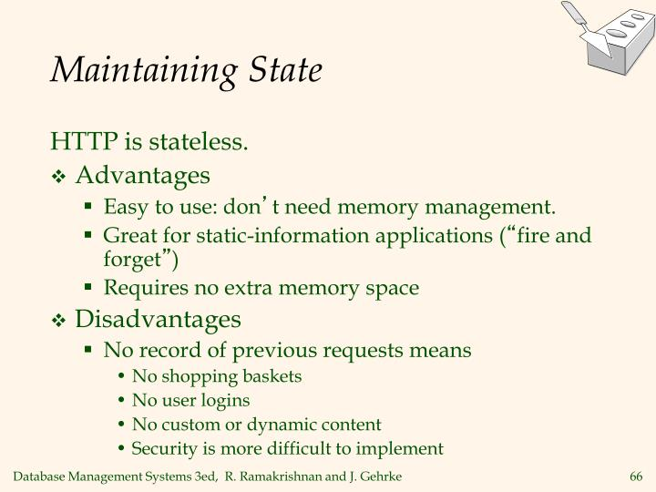 Maintaining State