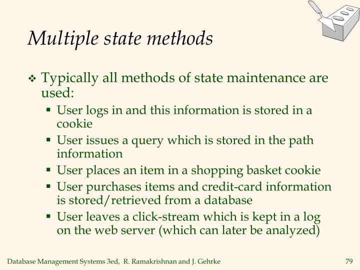 Multiple state methods