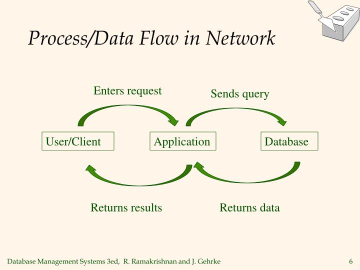 Process/Data Flow in Network