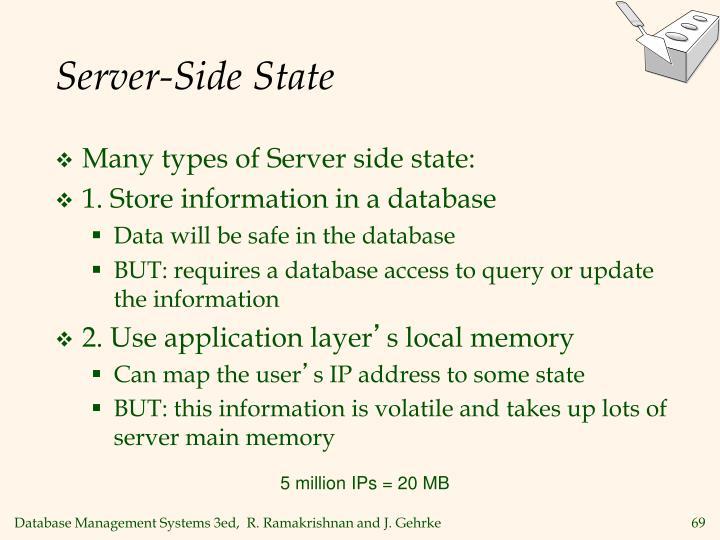 Server-Side State