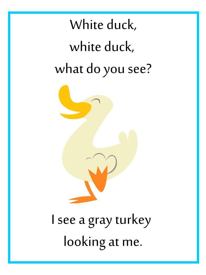 White duck,