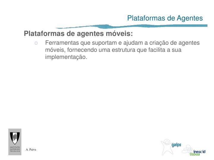 Plataformas de Agentes