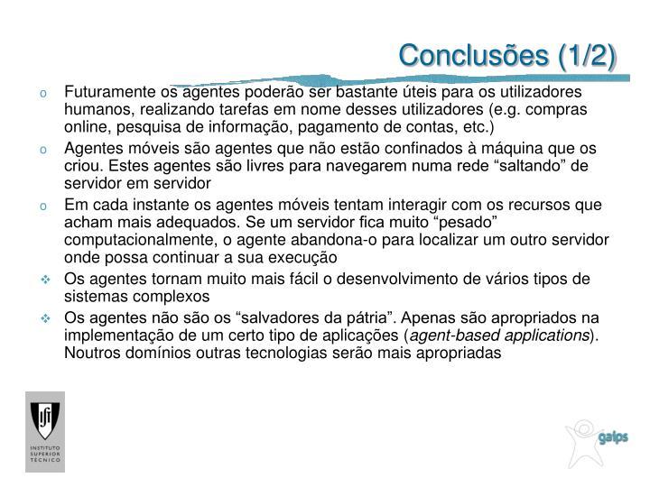 Conclusões (1/2)
