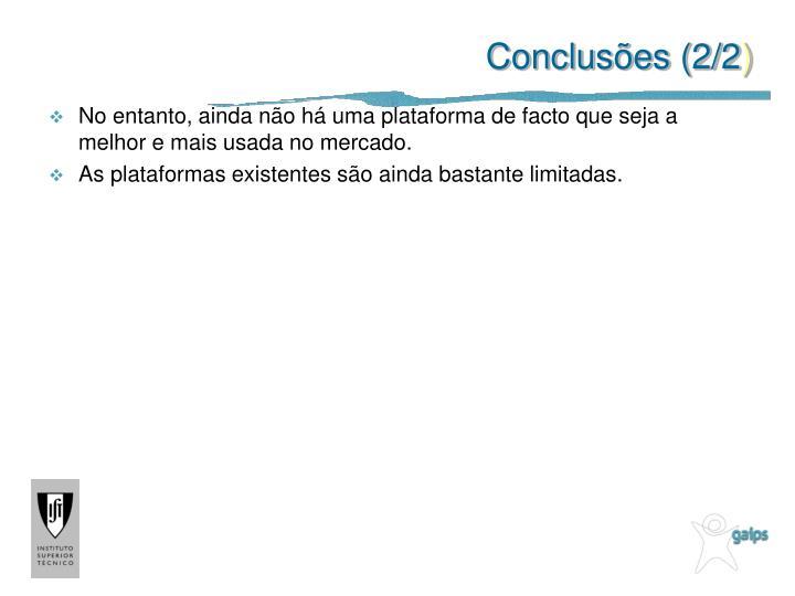 Conclusões (2/2