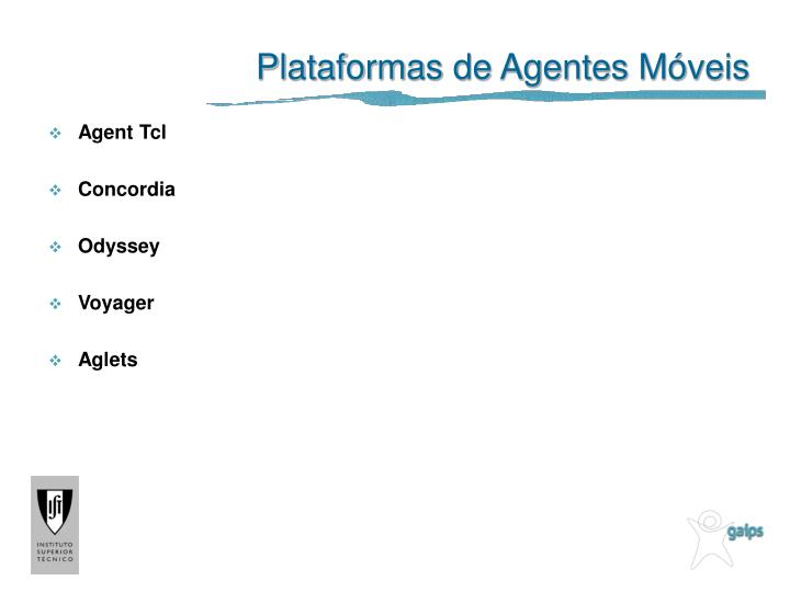 Plataformas de Agentes Móveis