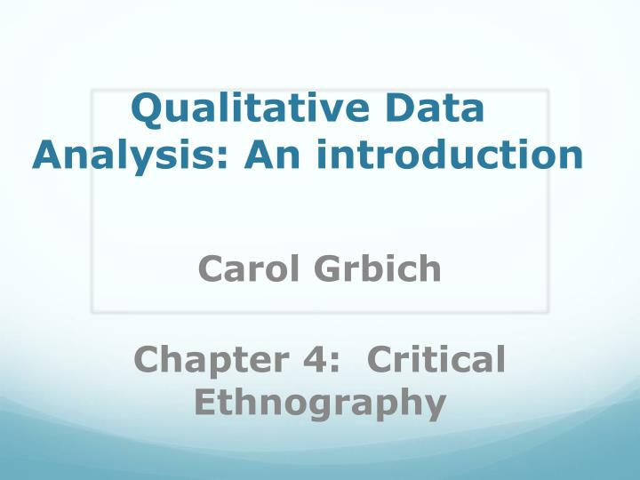 chapter 4 thesis presentation analysis and interpretation of data