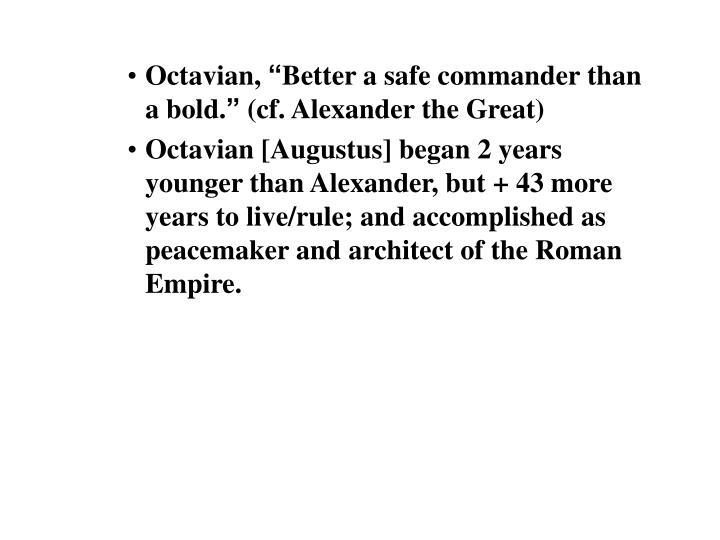 Octavian,
