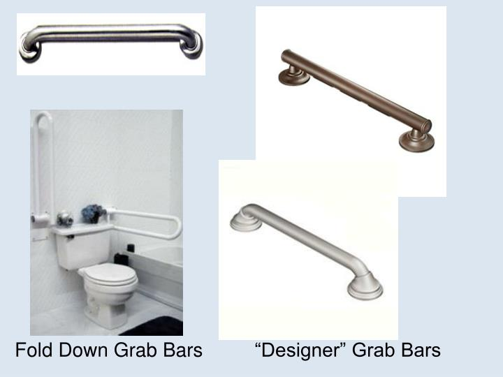 Fold Down Grab Bars