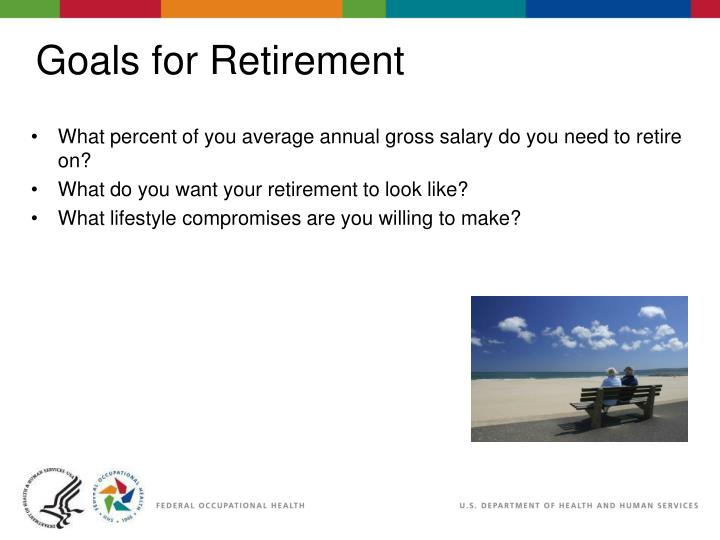 What percent of you average annual gross salary do you need to retire on?