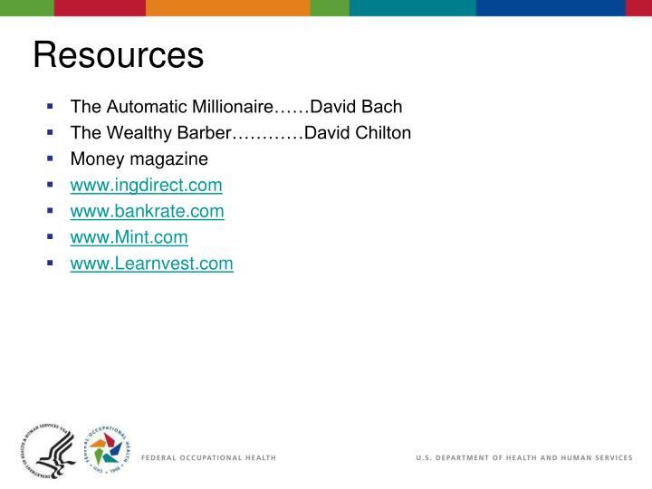 The Automatic Millionaire……David Bach