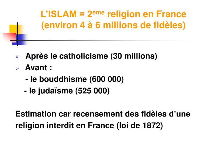 L'ISLAM = 2