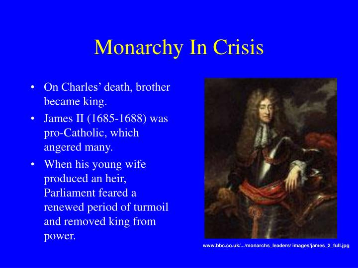Monarchy In Crisis