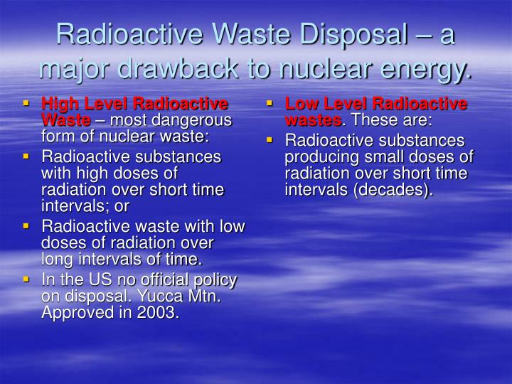 High Level Radioactive Waste