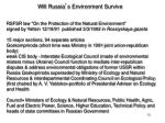 will russia s environment survive
