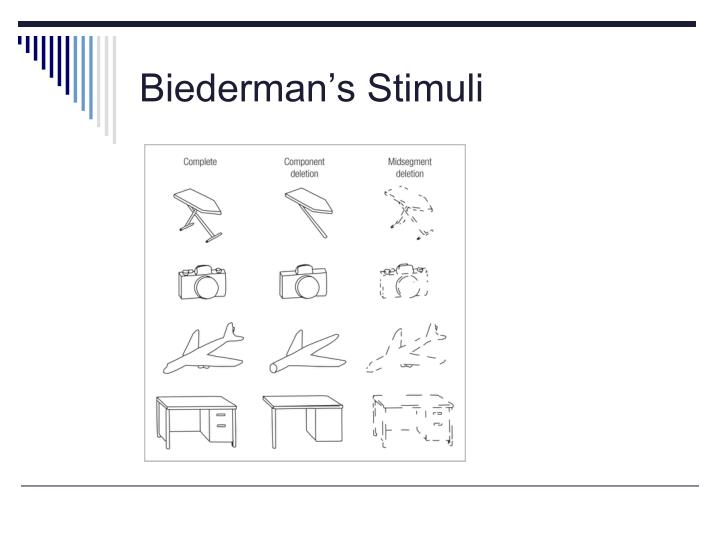 Biederman's Stimuli