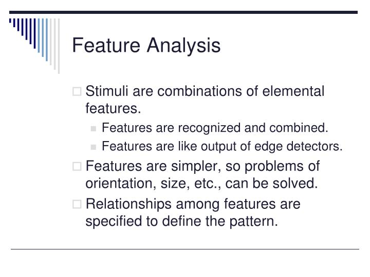Feature Analysis