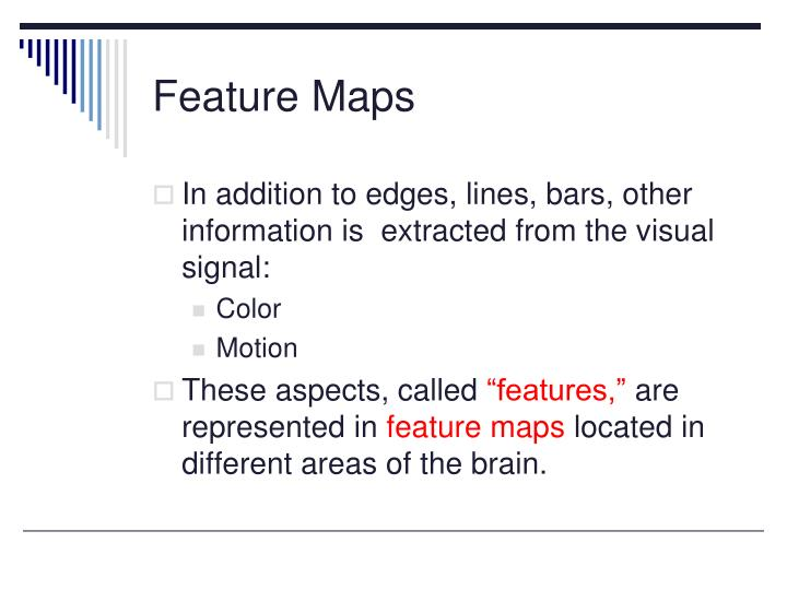Feature Maps