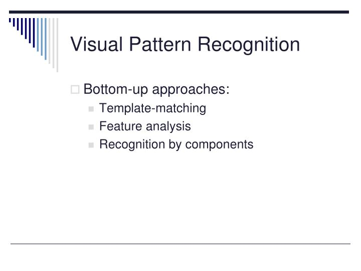 Visual Pattern Recognition