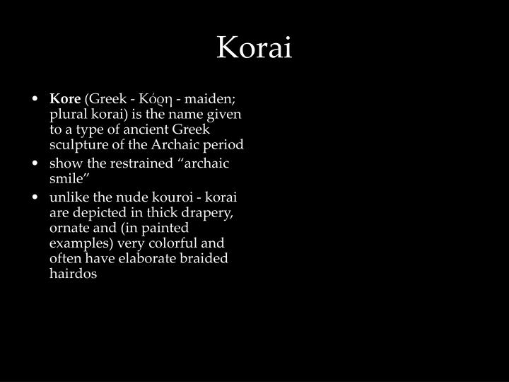 Korai