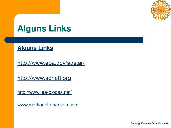Alguns Links