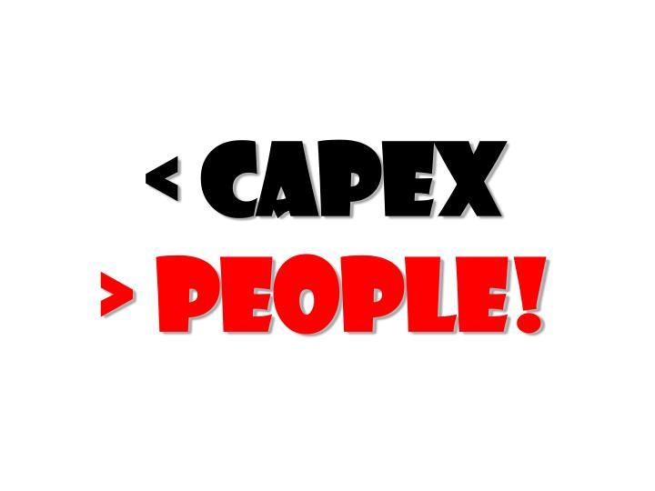 < CAPEX