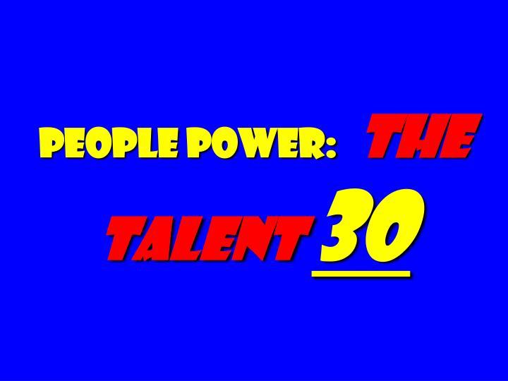 people power: