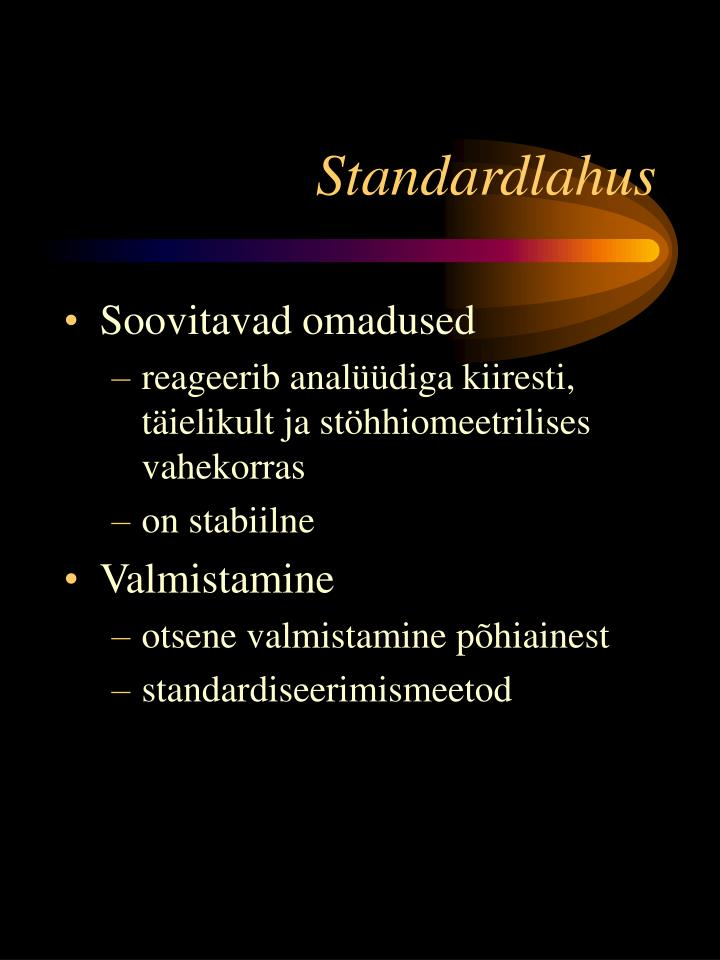 Standardlahus