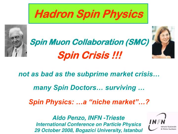Hadron Spin Physics
