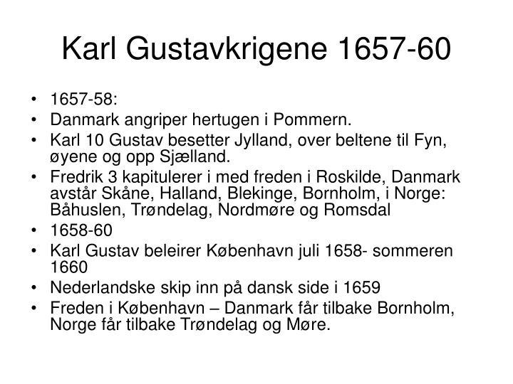 Karl Gustavkrigene 1657-60