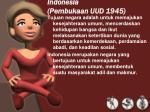 indonesia pembukaan uud 1945