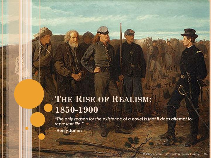 the rise of naturalism The rise of naturalism, particularly its emphasis on the scientific method, culminated around 1870, in the most important and independent american philosophy,.