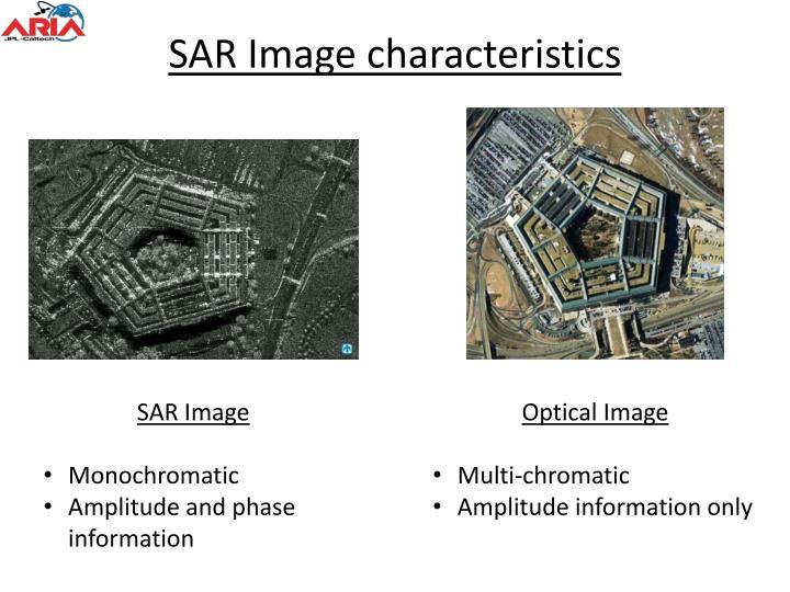 SAR Image characteristics