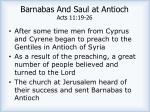barnabas and saul at antioch acts 11 19 261